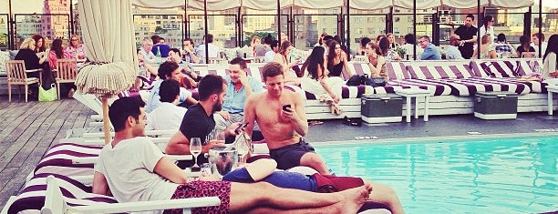 Soho House Rooftop is one of Spots in NYC+.
