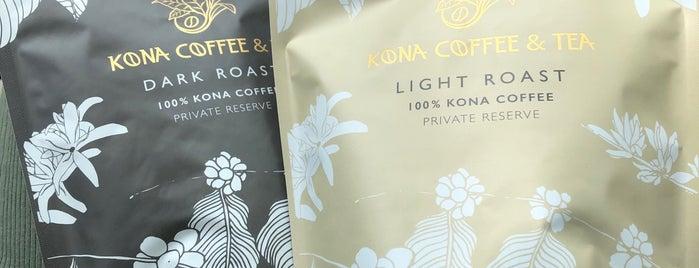 Kona Coffee & Tea is one of Hawaii.