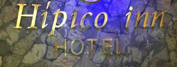 Hotel Hípico Inn is one of Tempat yang Disukai Selim.