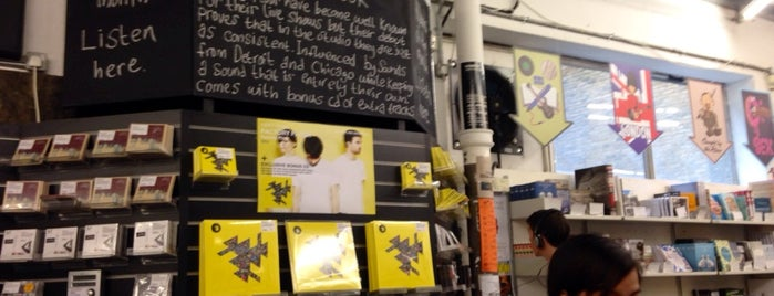 Rough Trade East is one of London, baby!.