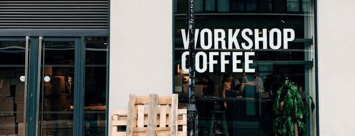 Workshop Coffee (Roastery) is one of London - Best Coffee Beans/Roasters.