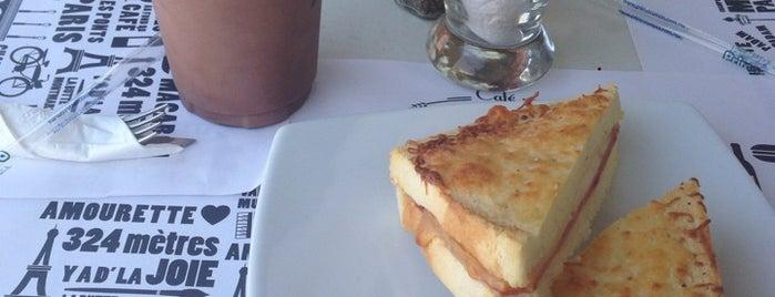 Cafe Antoinette is one of Playacar.