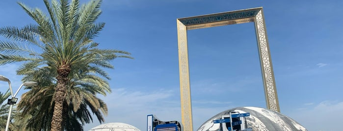 Dubai Frame is one of DXB.