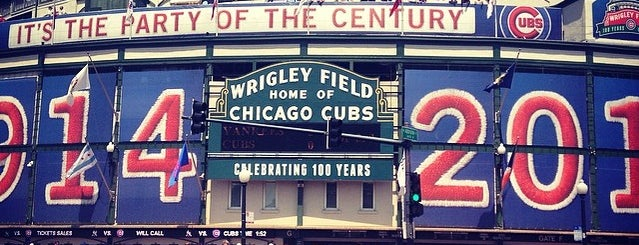 Wrigley Field is one of Sporting Venues....