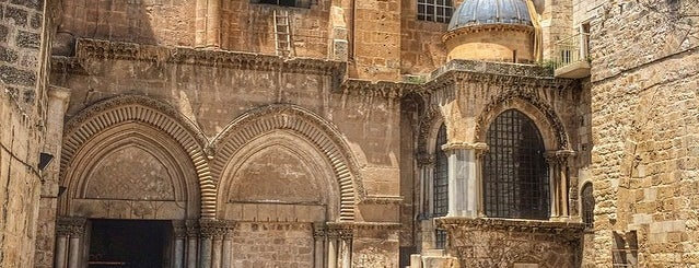 Church of the Holy Sepulchre is one of 36 Hours in... Jerusalem.