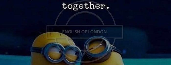English Of London is one of Doğa'nın Beğendiği Mekanlar.