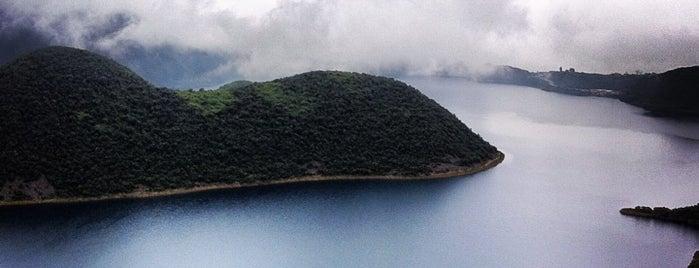 Laguna de Cuicocha is one of Ecuador.