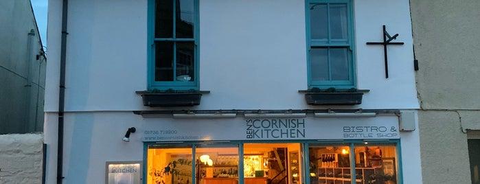 Ben's Cornish Kitchen is one of Cornwall.