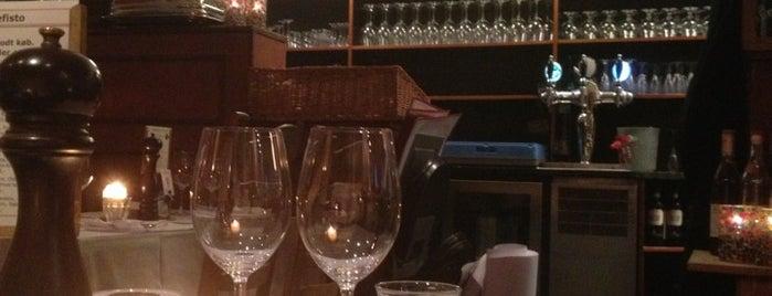 Mefisto Café & Restaurant is one of Aarhus.