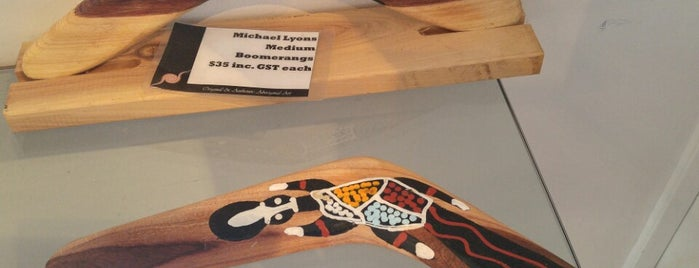 Original & Authentic Aboriginal Art Gallery is one of Melbourne shopping.