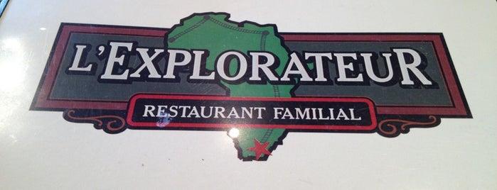 L'Explorateur is one of Restaurants.
