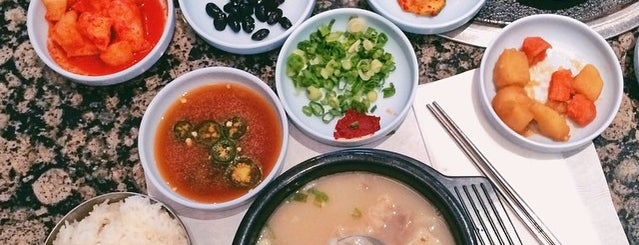 Yangji Gamjatang is one of LA's Essential Late Night Dining Restaurants.