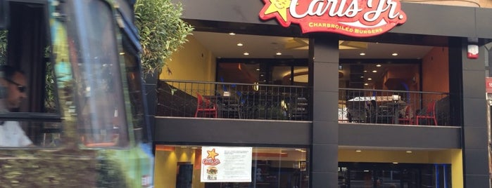 Carl's Jr. is one of Tempat yang Disukai Atakan.