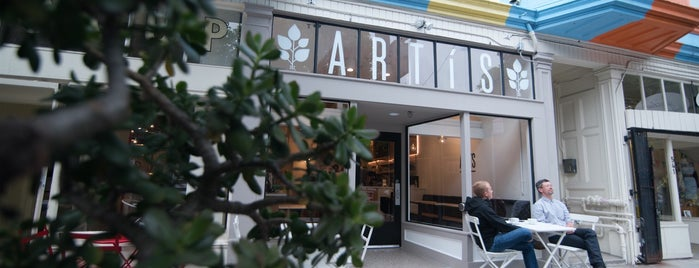 Artís Coffee is one of San Fran Coffee Shops.