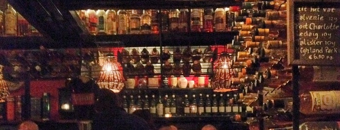 Whisky Café L&B is one of Amsterdam Essentials.