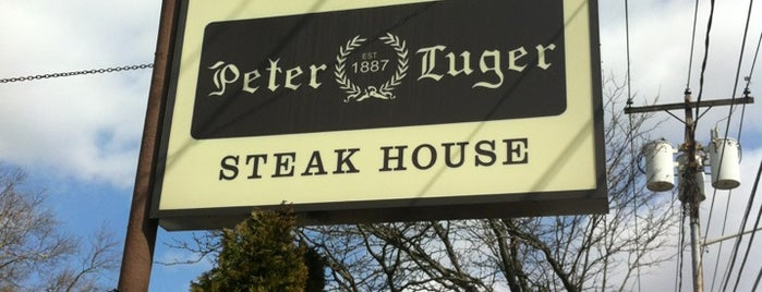 Peter Luger Steak House is one of NYC Food.