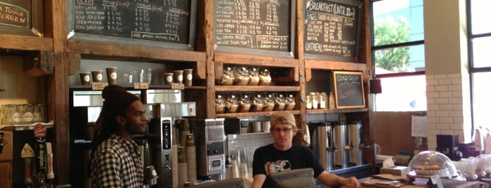 Think Coffee is one of Coffee Shops Below 14th Street.