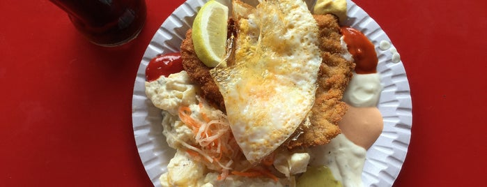 Scheers Schnitzel is one of Orte, die 영 gefallen.