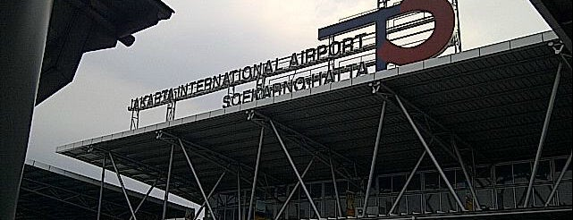 Soekarno-Hatta Uluslararası Havalimanı (CGK) is one of Airports of the World.