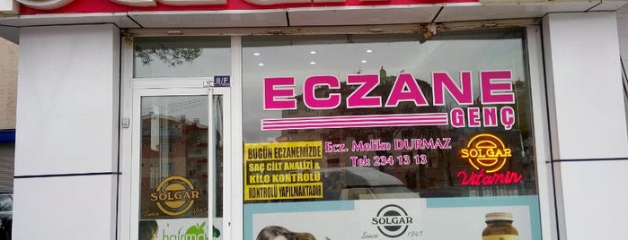Genç Eczanesi is one of H A Z I M 님이 좋아한 장소.