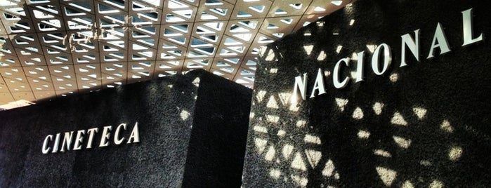 Cineteca Nacional is one of Orte, die Estefanía gefallen.