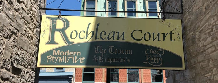 Rochleau Court is one of NYC-Toronto 2018.
