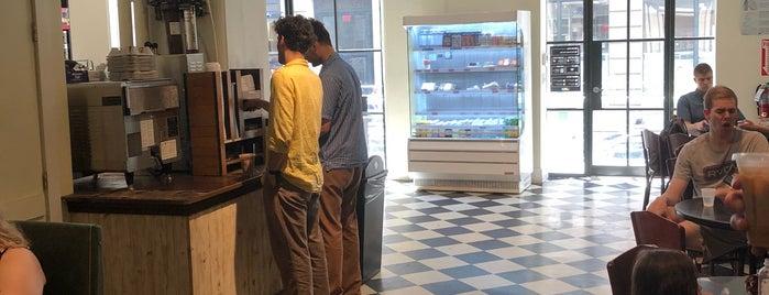 Brooklyn Roasting Company is one of Tempat yang Disukai Jason.