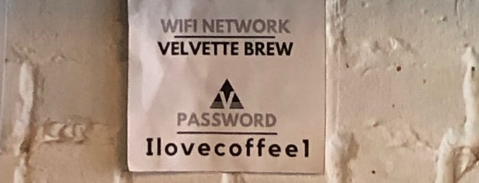Velvette Brew is one of 2018 Place to go & Things to eat.