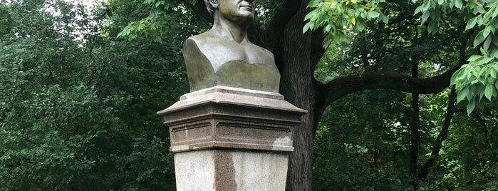 Washington Irving Memorial is one of Prospect Park.