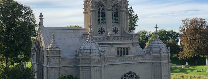 The Green-Wood Chapel is one of NYC Places II (Sightseeing).