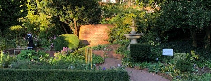The Shakespeare Garden is one of Brooklyn.