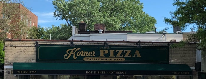 Korner Pizza is one of Brooklyn-Bound.