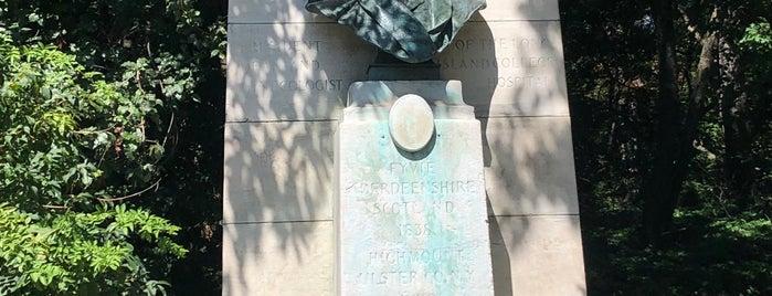 Alexander J.C. Skene Monument is one of Prospect Park.