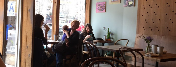 Mimi's Hummus is one of E New York.