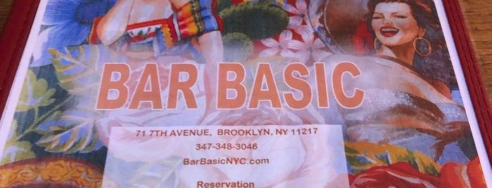 Bar Basic is one of Boozy Brunch Spots.