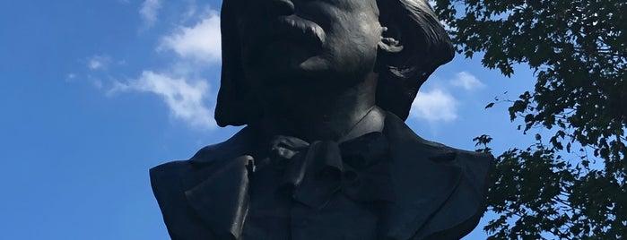Edvard Grieg Memorial is one of Prospect Park.