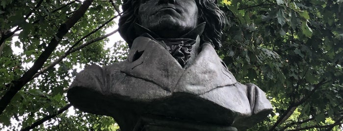 Beethoven Memorial is one of Prospect Park.