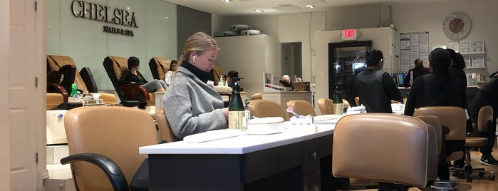 Chelsea Nail Salon is one of NYC.