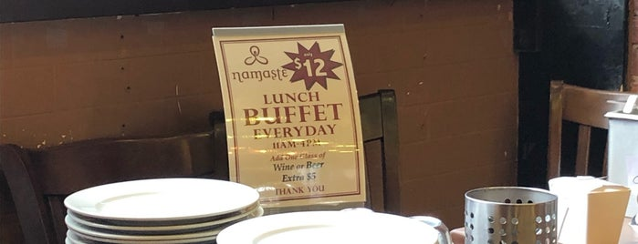 Namaste is one of Where I Go In Park Slope.