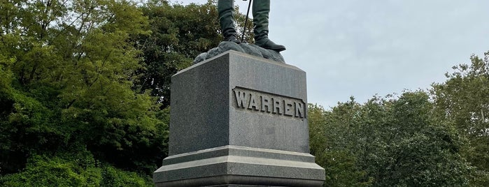 General Warren Statue is one of Prospect Park.