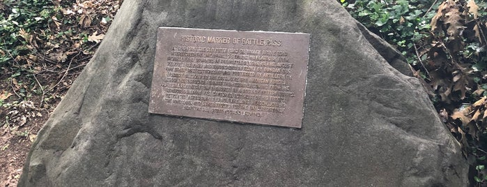 Battle Pass Marker is one of Prospect Park.