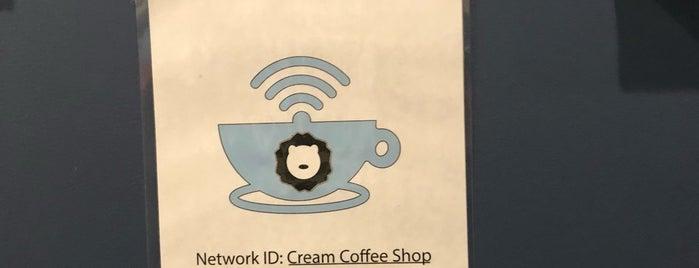Cream Coffee Shop is one of Lieux qui ont plu à Chris.
