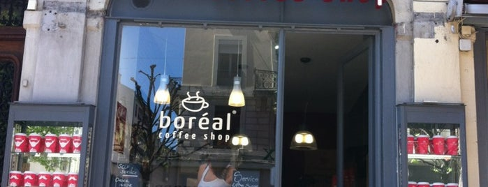Boréal Coffee Shop is one of Locais curtidos por Andrea.