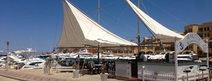 Maritim Restaurant is one of El Gouna.