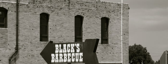 Black's Barbecue is one of #Austin.
