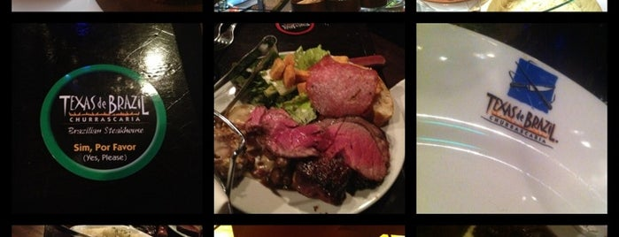 Texas de Brazil is one of Dinner Places.