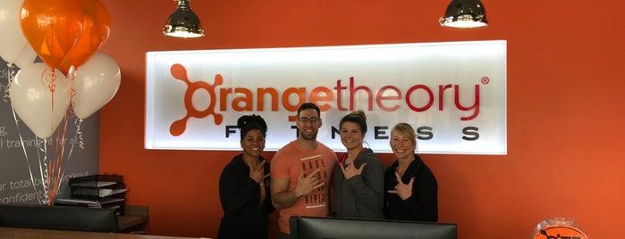 Orangetheory Fitness is one of สถานที่ที่ Greg ถูกใจ.
