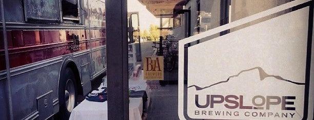 Upslope Brewing Company is one of Colorado Breweries.