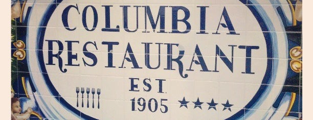 The Columbia Restaurant is one of Tampa.