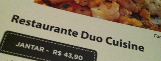 Duo Cuisine is one of Participantes da 7ªed. do Curitiba Restaurant Week.
